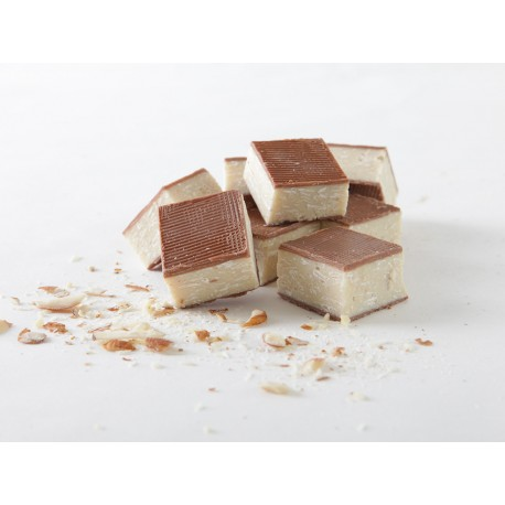 Crocante almendra chocolate blanco